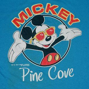 80's Disney Mickey Mouse Pine Cove T-Shirt